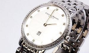[8] 特注製作 (カーブガラス) 時計:Christian Bernard【before】