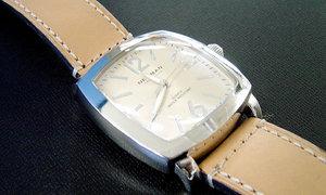 [3] 特注製作 (アールガラス) メンズ時計【before】