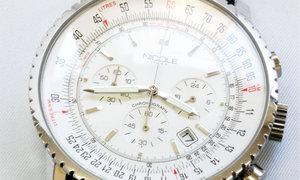 [4] 特注製作 (アールガラス) 時計:NICOLE【before】