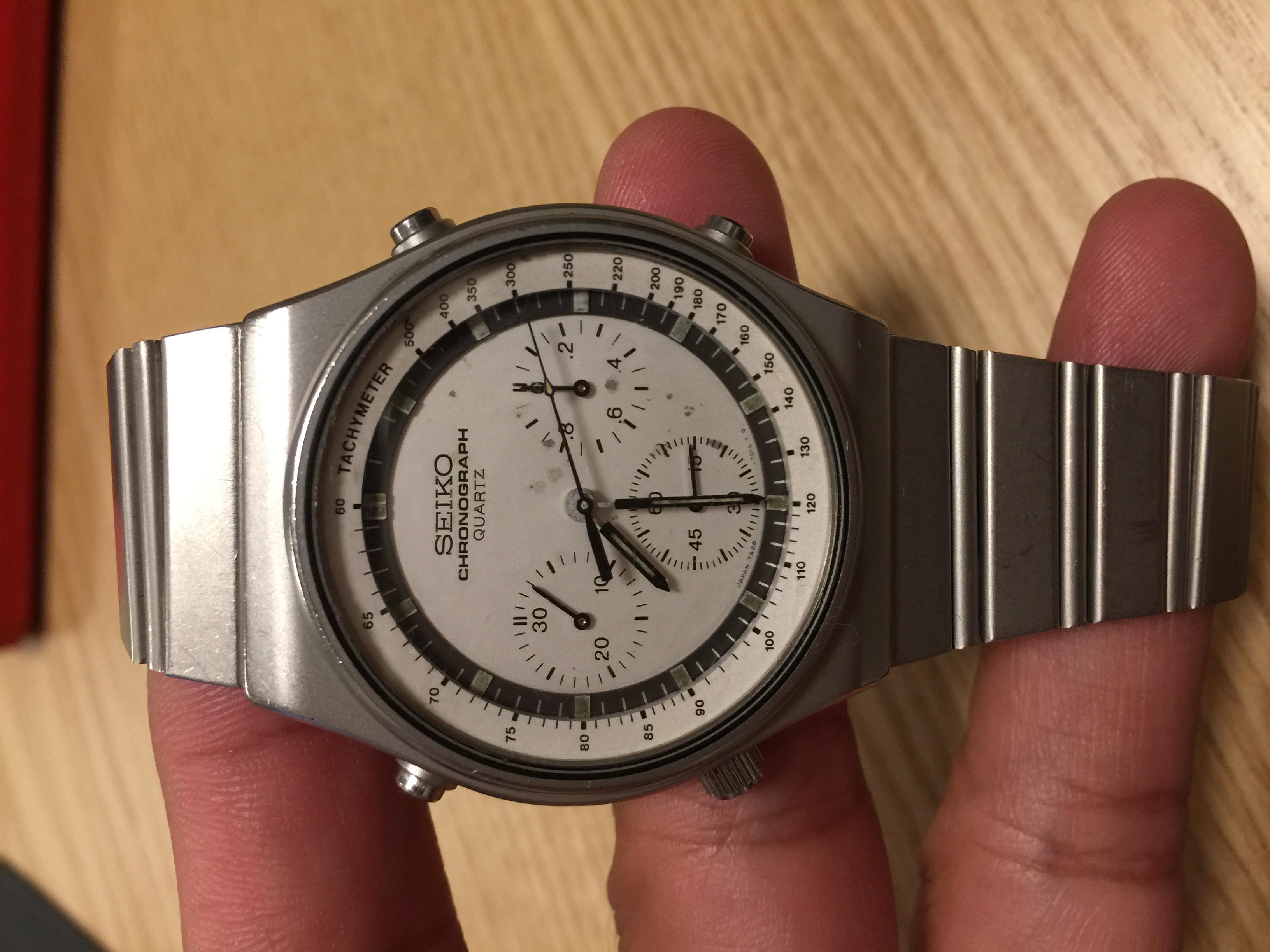 cheap for discount 84f67 ffb71 セイコースピードマスター 7A28 | 時計相談室 | 時計修理 ...